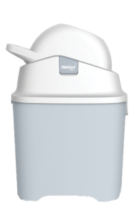 Grey Diaper Pail