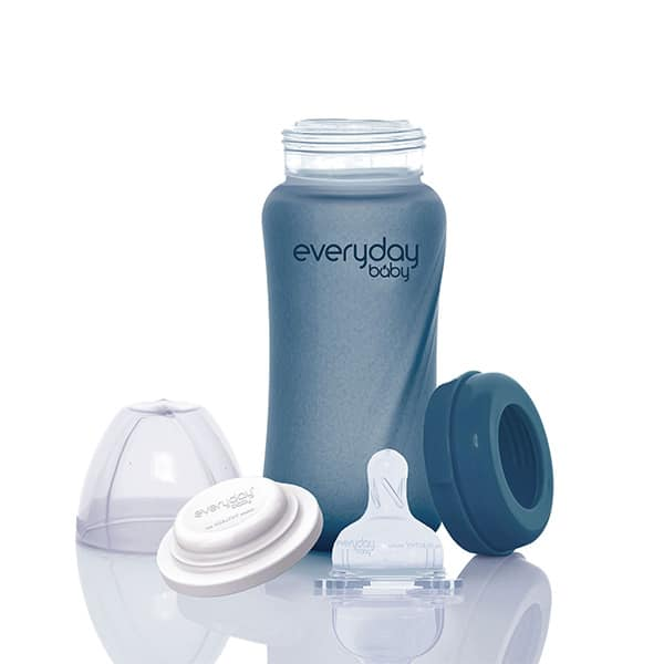 everyday-baby-silicone-coated-glass-baby-bottles-heat-sending-blueberry-240-ml-pjm-distributions-inc