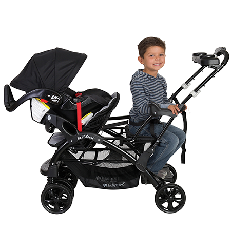 Having only one child in the stroller seat