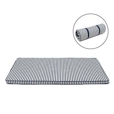 Floor Mattress -Blue Stripes