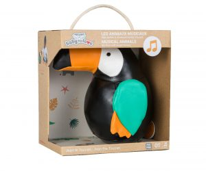 MUSICAL ANIMALS – JEAN THE TOUCAN