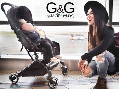 G+G Oxygen Stroller Lifestyle