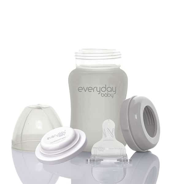 everyday-baby-quiet-grey-silicone-coated-glass-bottles-pjm-distributions-150-package-mm